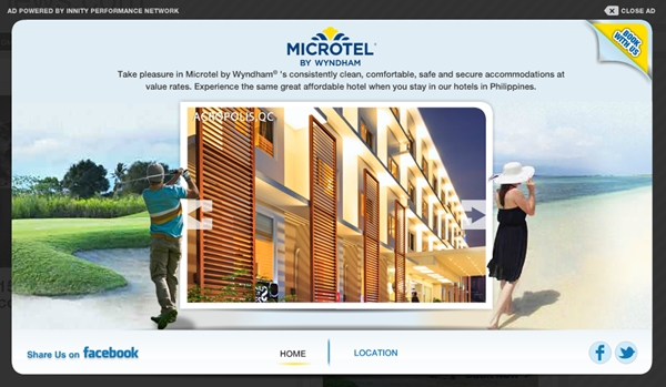 lightbox - microtel