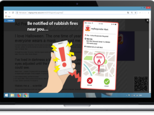[August 2018: Top Creative] How Do You Know When There Are Rubbish Fires Going On?