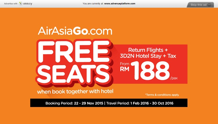 [Case Study] AirAsiaGo's Promotion Gains High Impression In A Short Period of Time