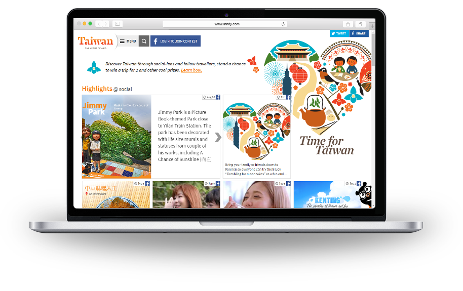 [Case Study] The Winning Campaign – Taiwan Tourism Social Hub