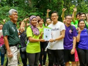 Innity plants 200 Trees in FRIM, Kepong!