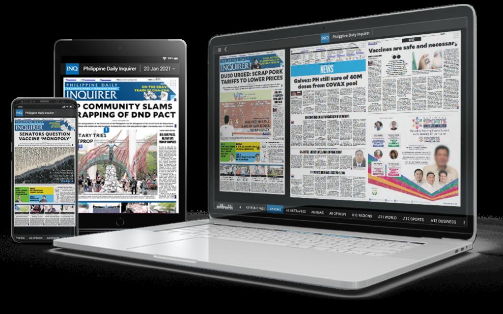 inquirer.net, newspaper, news, business, ad network, publishers, website,