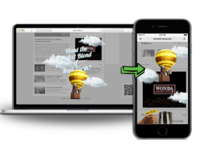 Introducing Our Latest Product – Responsive Over The Page